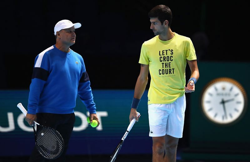 Novak Djokovic is working on several things for the future