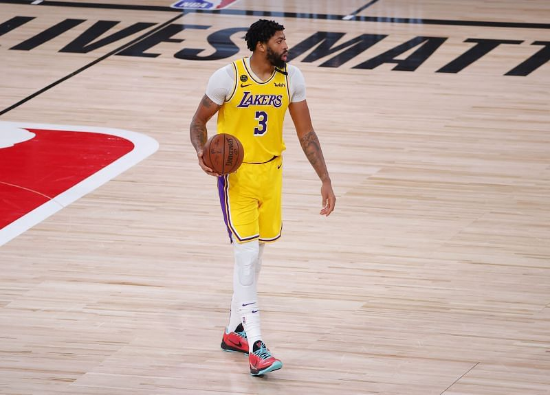 Anthony Davis has gone to work in the paint all series long for the LA Lakers