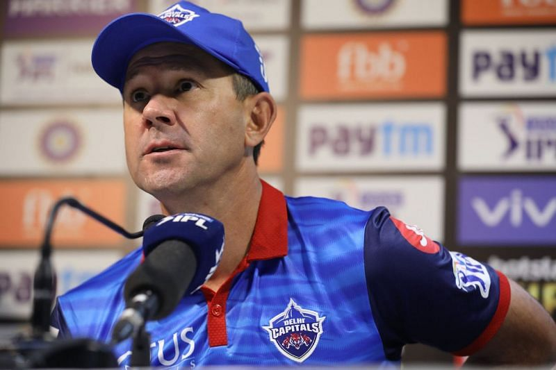 Delhi Capitals coach Ricky Ponting does not approve of