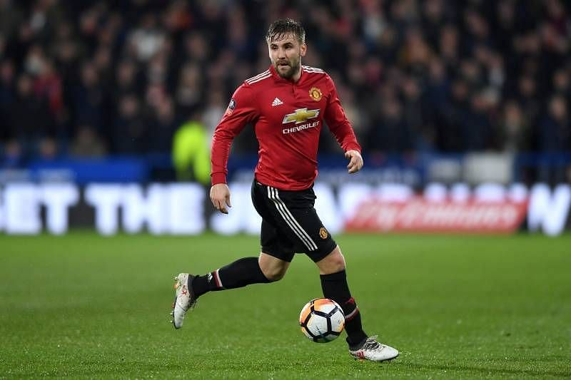 Manchester United are without the injured Luke Shaw for the Europa League quarter-final