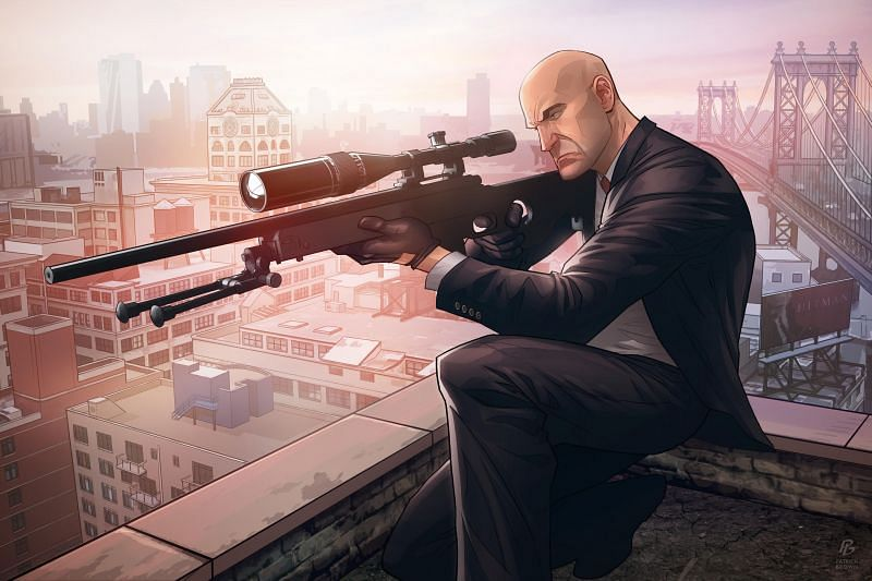Best Android shooting games for PC (Hitman Sniper). Image: HDQwalls.