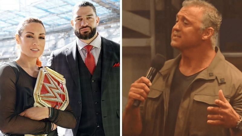 Roman Reigns and Becky Lynch at SoFi; Shane McMahon on RAW Underground