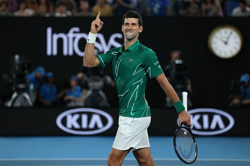 Novak Djokovic is known to be one of the mentally toughest players on tour.