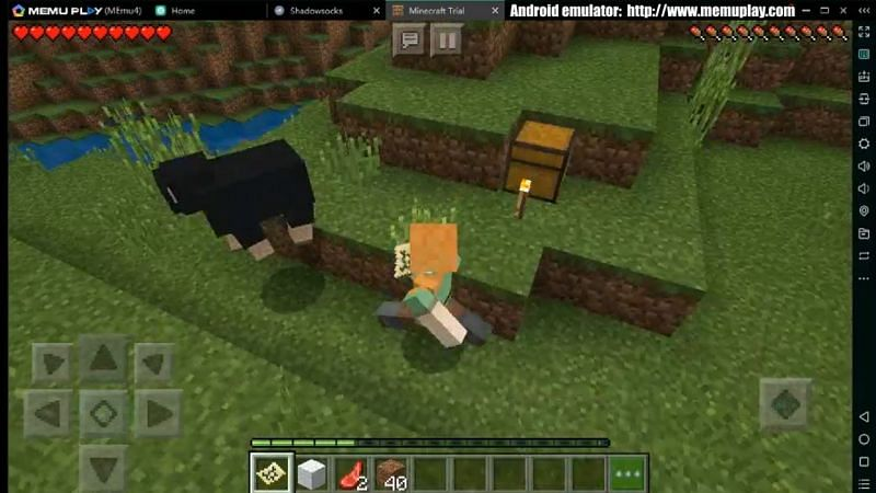 Minecraft on Memu Play (Image credits: Memu Play)