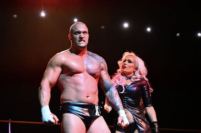 Scarlett and Karrion Kross in NXT