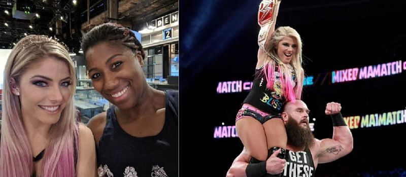Alexa Bliss breaks character and reveals how she really