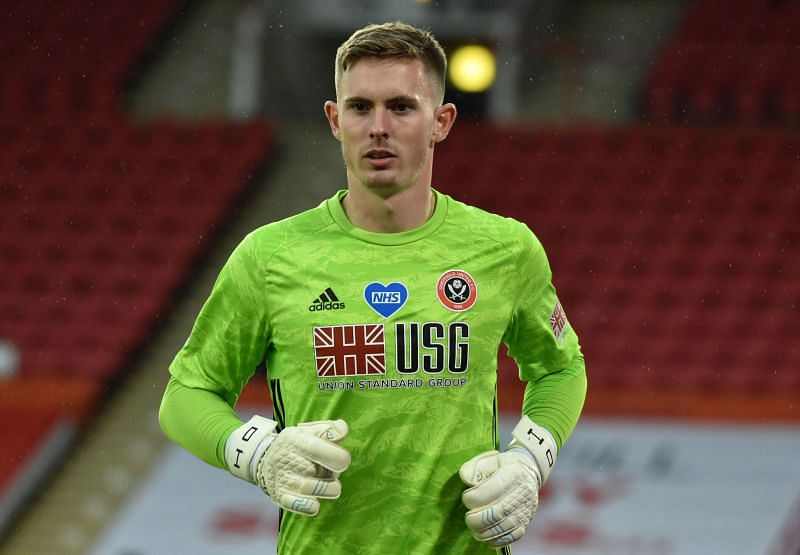 Dean Henderson of Sheffield United