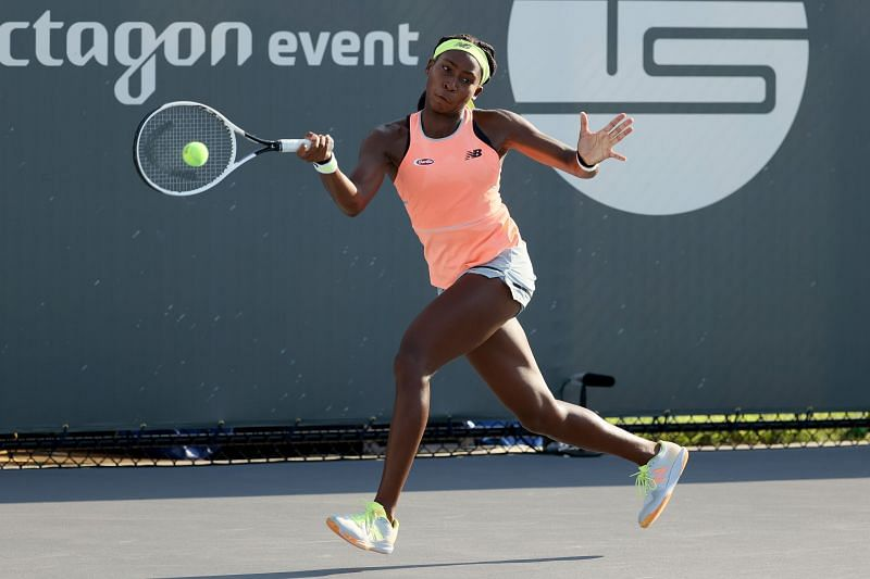 Coco Gauff faces an in-form Jennifer Brady