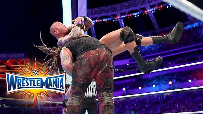 Bray Wyatt and Randy Orton face each other at WrestleMania
