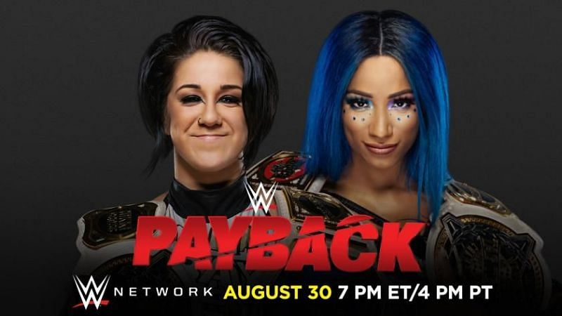 WWE Payback 2020 Match Card