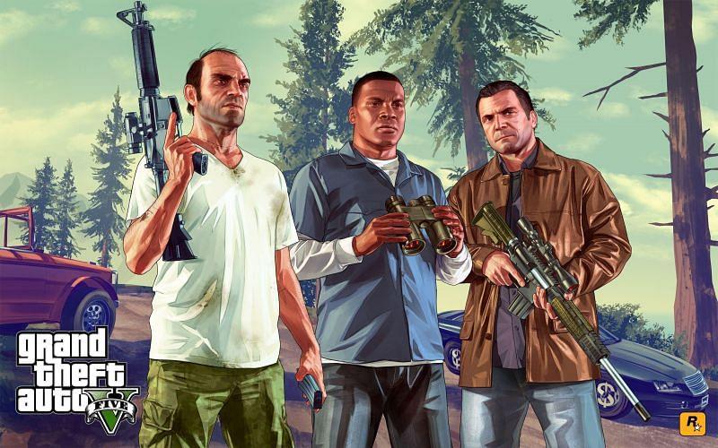 GTA V (Image Credits: Wallpapercave)