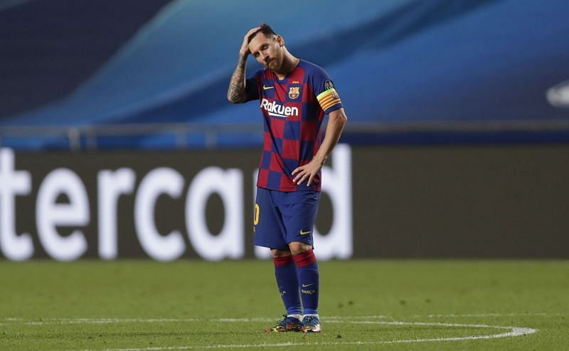 Barcelona suffered a horrible defeat