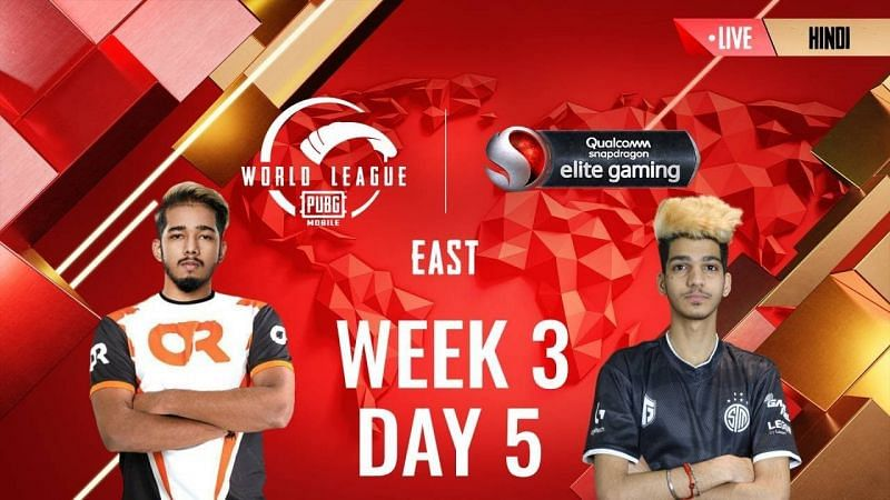 PMWL 2020 East Week 3 Day 4 schedule announced (Image Credits: PUBG Mobile)