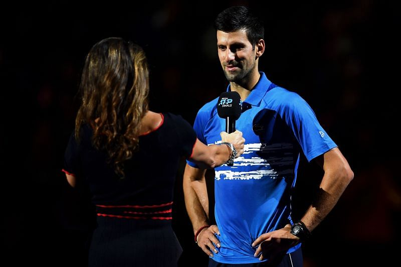 Novak Djokovic is the President of ATP Players