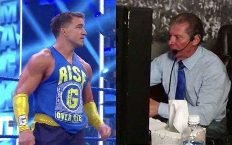 Vince McMahon admires the talent of this SmackDown Superstar