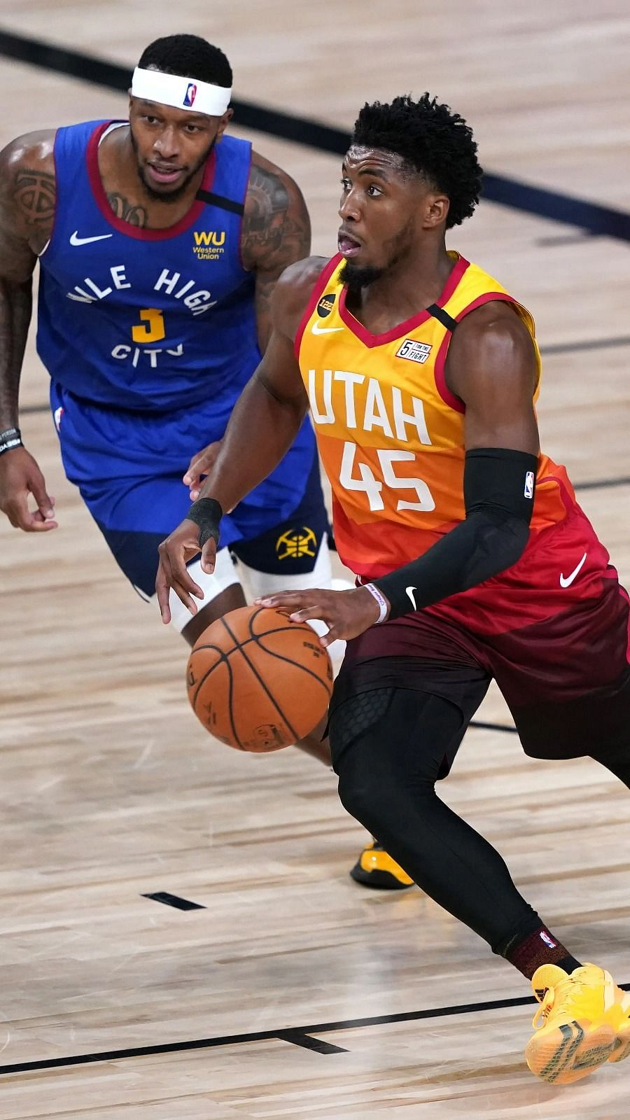 Denver Nuggets vs Utah Jazz Prediction: Donovan Mitchell could be in  trouble, as he looks for support l NBA Playoffs 2020