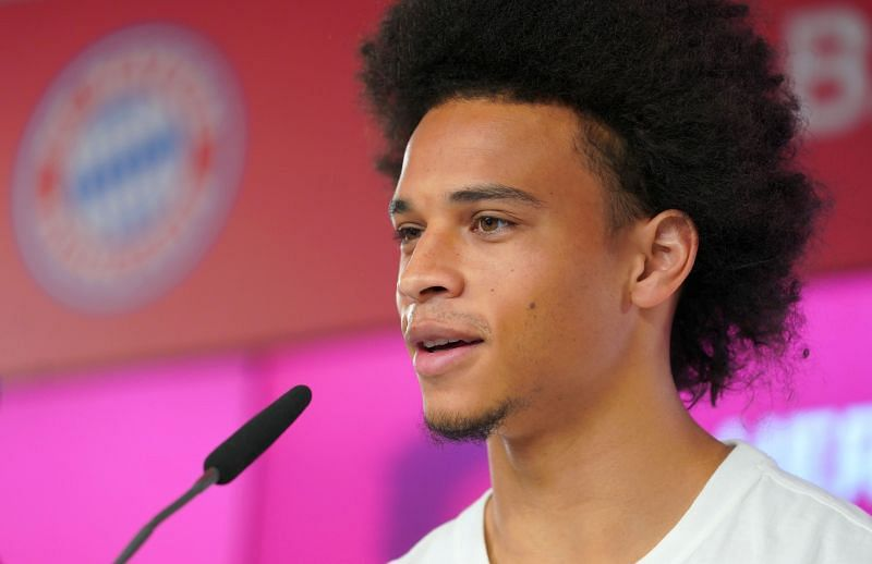 Leroy Sane moved to Bayern Munich this summer