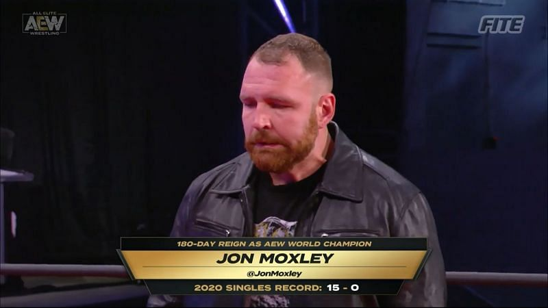 Jon Moxley and MJF signed their contracts for All Out