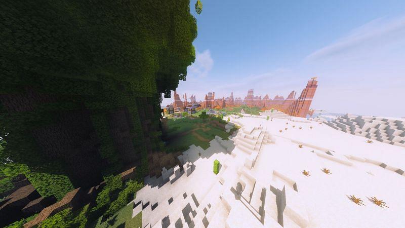 Minecraft Odyssey (Image credits: Minecraft Maps)