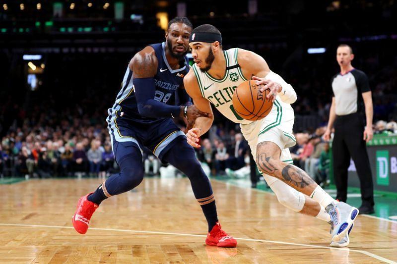 The Memphis Grizzlies take on the Boston Celtics on Tuesday