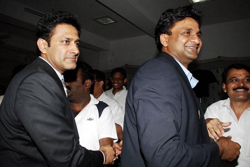 Anil Kumble and Javagal Srinath are two of the stars of Karnataka cricket