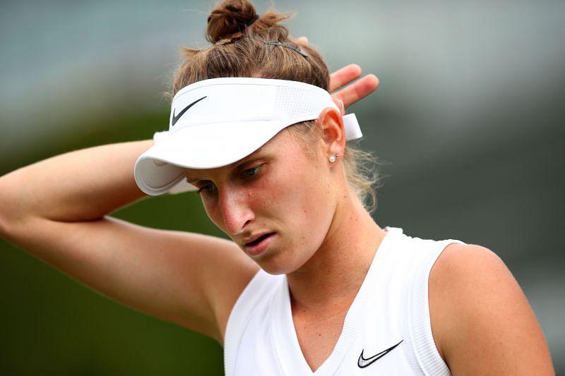 Madison Brengle at Wimbledon 2019