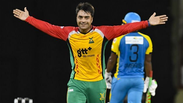 Rashid Khan will be a key figure in the CPL for this Tridents