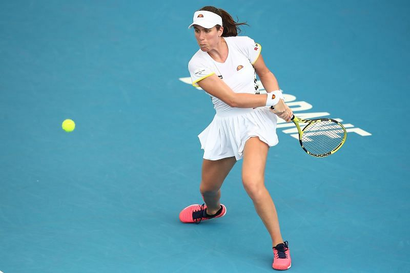 Johanna Konta faces Heather Watson in the First Round at the US Open