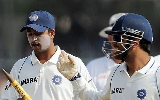 Pragyan Ojha recalled how a witty MS Dhoni instructed him to dismiss Ian Bell