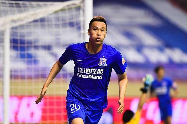 Kim Shin-Wook is a significant miss for Shanghai Shenhua