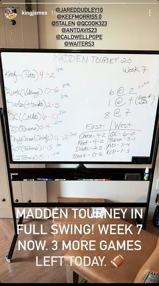The LA Lakers Madden 2020 tournament is heating up