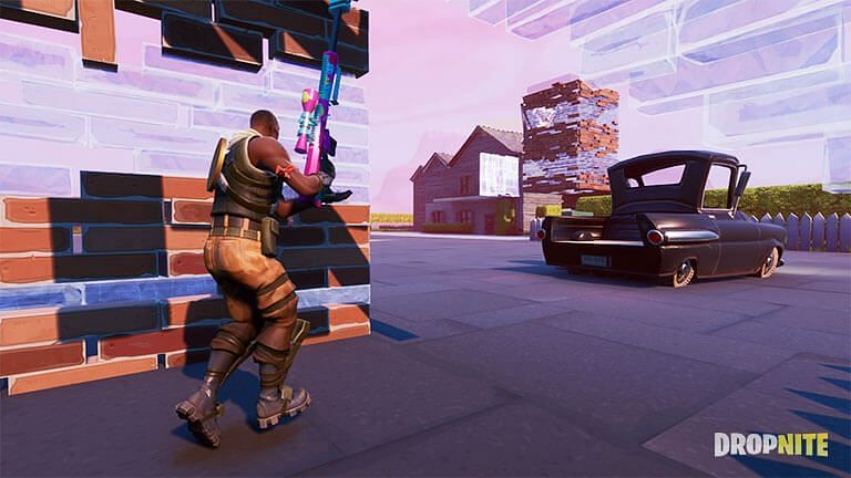 town zone wars fortnite map