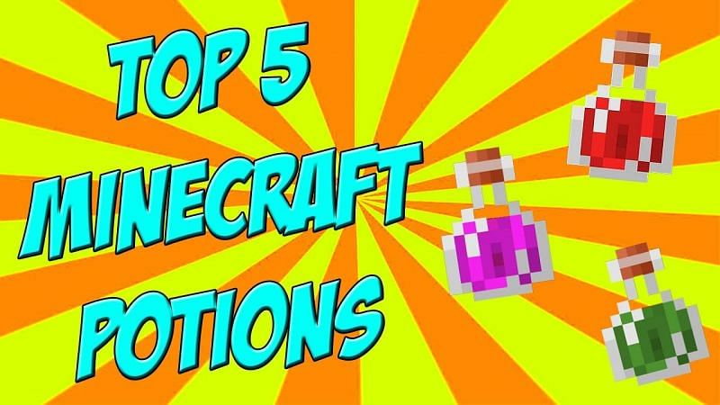 Top 5 Minecraft Potions (Image credits: EthDo, Youtube)