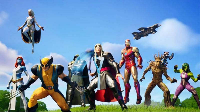 Fortnite is currently focussed on Marvel characters (Image Credit: Epic Games)