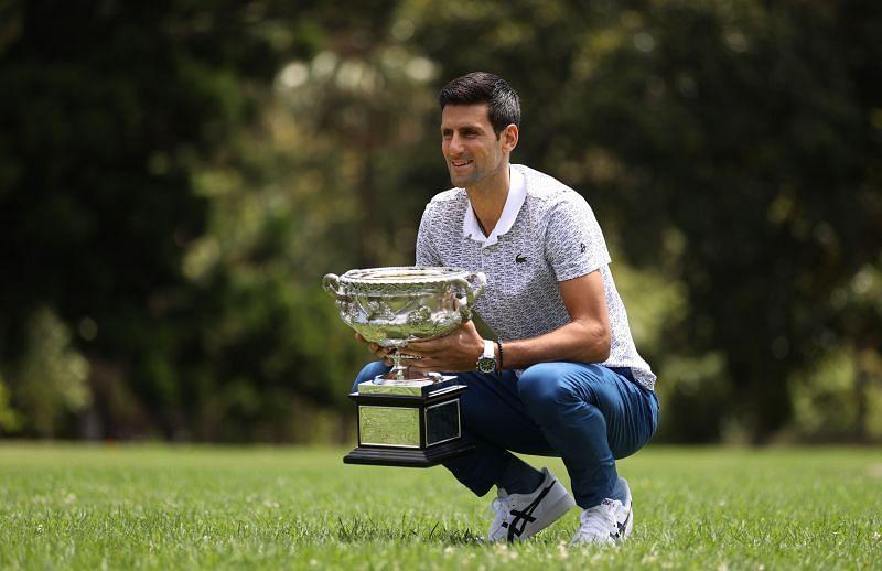 Novak Djokovic won the Australian Open this year