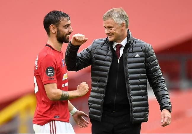 Manchester United completed the signing of Bruno Fernandes in January