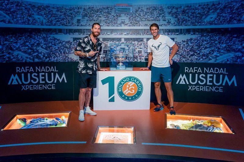 Sergio Ramos and Rafael Nadal
