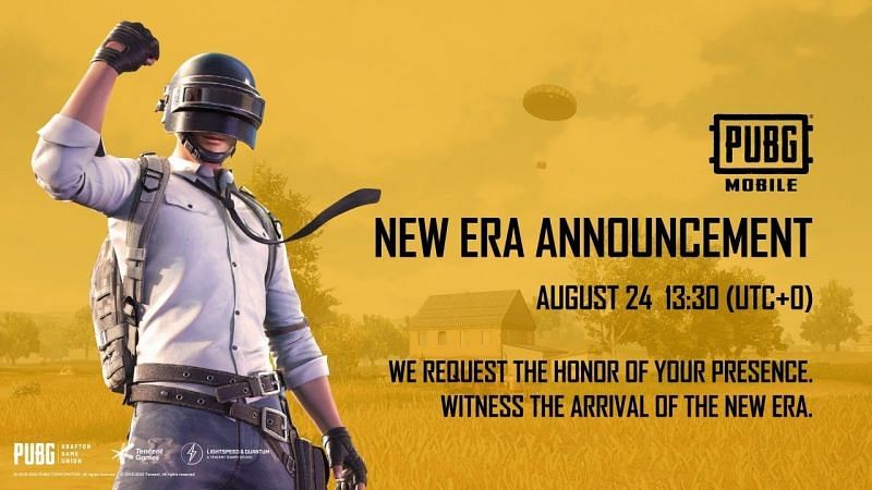 PUBG Mobile made an announcement regarding the New Era (Image Credits: PUBG Mobile / YouTube)