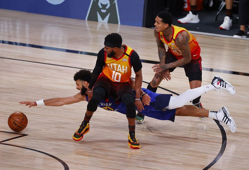 Jamal Murray in action in Game 6