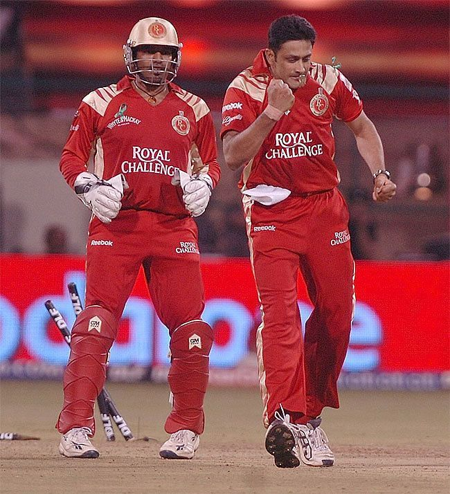 RCB bundled out defending IPL champions Rajastan for a paltry 58. [PC:timesofindia.indiatimes.com]