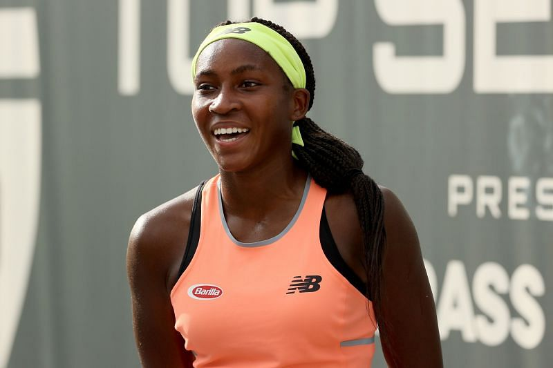 Coco Gauff at the 2020 Top Seed Open