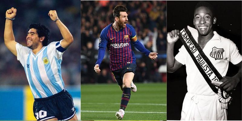 Lionel Messi has been compared to some legends from the past