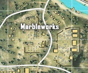 Free Fire में Marbleworks