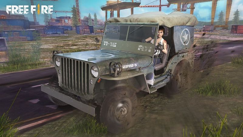 A jeep in Garena Free Fire (Image Credit: Free Fire)