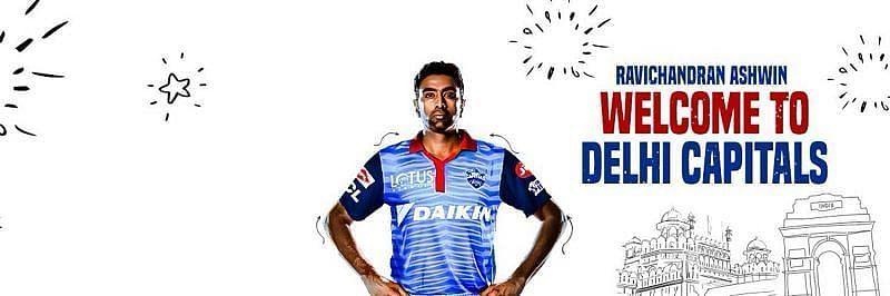 Ravichandran Ashwin will be playing for Delhi Capitals in IPL 2020 [P/C:Delhi Capitals Twitter]