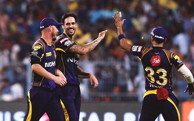 Johnson had little to smile about during his spell with KKR in the IPL Enter caption