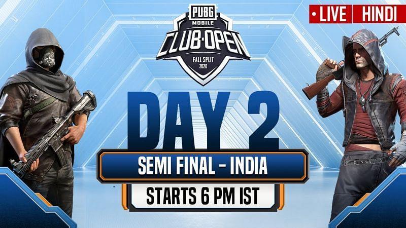 PUBG Mobile Club Open Fall Split 2020 India (Image Credits: PUBG Mobile Esports)