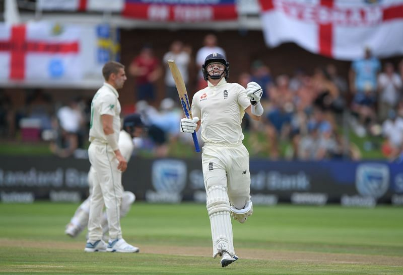 Ollie Pope notched up his maiden Test ton against South Africa in 2019