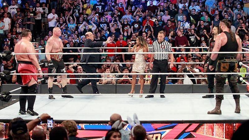 ब्रॉक लैसनर को इन सुपरस्टार्स को हराया है