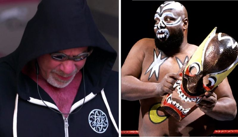Goldberg stated that Kamala was the first wrestler he watched live